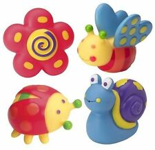 NEW SET OF 4 ANIMAL SQUIRTERS FOR THE TUB IN ZIP BAG FUN BATH TOYS! ALEX SALE