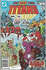 New Teen Titans #15 Newsstand Ed. (Jan. 82) VF- signed by Wolfman & Perez ID#191