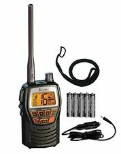 Cobra Compact Waterproof Marine Handheld Vhf Radio Weather Safe Boating Portable