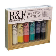 R&F Handmade Paints - Pigment Stick Half Stick Start-Up Set RF2980