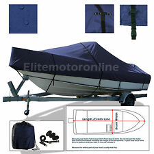 Glastron GS 249 Cuddy Trailerable Deluxe Boat Cover Navy