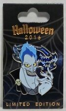 Disney Happy Halloween 2016 Hades From Hercules Stained Glass 3-D Pin LE 3000