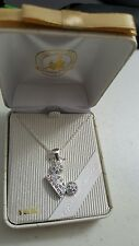 Disney Parks Mickey Mouse ears pendant with crystals