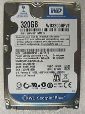 "320GB Western Digital WD3200BPVT 2.5"" WD Scorpio Blue Laptop SATA Hard Drive"