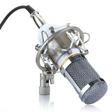 High Quality Professional Condenser Mic Studio Recording Microphone White