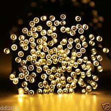 Outdoor Home Solar Power 100/200 LED String Fairy Light Xmas Garden Party Decor