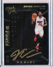 2015/16 PANINI BLACK GOLD JUSTISE WINSLOW RC SIZABLE MATERIALS AUTO 25/99