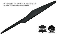 BLACK STITCH CONSOLE DRIVER SIDE PANEL TRIM LEATHER COVER FOR CORVETTE C7 14-17