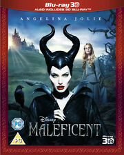 MALEFICENT 3D****BLU-RAY****REGION B****USED ONCE
