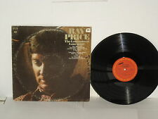 RAY PRICE The Lonesomest Lonesome 1972 LP Empty Chairs Time Over This House