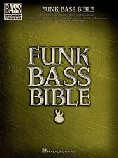 FUNK BASS GUITAR BIBLE TAB SHEET MUSIC SONG BOOK
