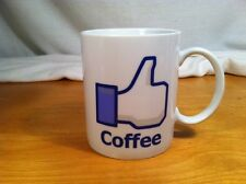 Facebook//Thumbs Up Coffee Cup 10 Ounce Capacity