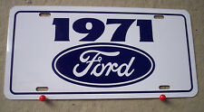 1971 Ford license plate tag 71 Mustang MACH 1 Torino GT Fairlane Maverick Truck