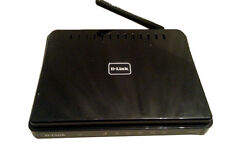 Black D-Link WiFi Router