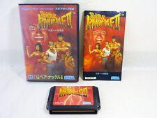 BARE KNUCKLE II 2 Mega Drive SEGA Import JAPAN Video Game md