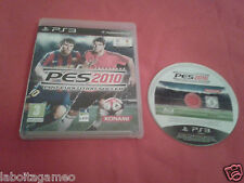 PES 2010 PRO EVOLUTION SOCCER - SONY PLAYSTATION PS3 PAL