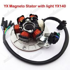 Magneto Stator W/ Light For SSR YCF YX 140cc Dirt Pit Bike PitsterPro Atomik IMR
