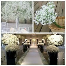 Artificial Plastic Gypsophila Baby's Breath Flower Plant Home Wedding Decor