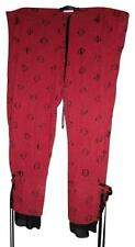 LIP SERVICE 'Blacklist' Red & Black Victorian Gothic Bloomers Pants Size Small