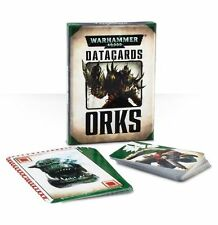 Warhammer 40k Orks Datacards Data Cards BNIB New Sealed Games Workshop WH40K OOP