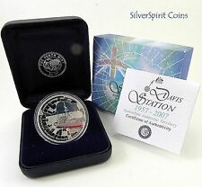 2007 ANTARCTIC SERIES DAVIS STATION Silver Proof Coin