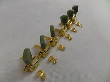 Guitar Tuners Gold Machine Head Vintage x 6 Set LP SG Tulip Style 3L + 3R New