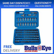 Laser Tools Torx Tri-wing Spline Pozzi Hex Bit Set 100pc 2905 Perfect Gift Idea