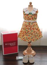 NEW American Girl Doll KIT FLORAL PRINT DRESS Shoes Outfit Clothes 1930s Ruthie