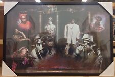 New Framed Hip-Hop Legends/ Icons Biggie Smalls & Tupac Shakur Art Poster Print