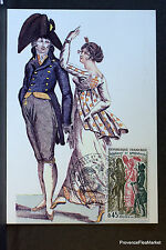 COSTUME DE BAL 1972 CARTE MAXIMUM FRANCE Premier Jour 1° FDC Yt 1729c