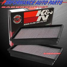 TWO K&N 33-2127 PANEL AIR INTAKE FILTERS 95-02 E350 ECONOLINE 7.3L V8 DIESEL