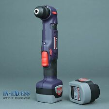 Sparky 12V Cordless Right Angle Drill Driver With 2 Batteries & Case BAR12E