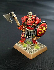 1 x pro painted métal classique warhammer fantasy battle khorne champion du chaos