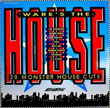 LP - Ware's The House (VARIOUS HOUSE)  NUEVO - NEW, STOCK STORE LISTEN