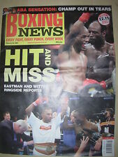 BOXING NEWS 25 FEBRUARY 2005 JUNIOR WITTER DEFEATS LOVEMORE NDOU