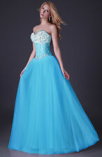 PLUS SIZE  Long Bridal Wedding Prom Dresses Evening party Graduation Ball Gowns