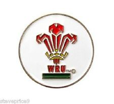 GALLESE RUGBY GOLF BALL MARKER. GALLES W R U