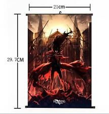 Hot Japan Anime Hellsing Alucard Cosplay Home Decor Poster Wall Scroll 21*30CM b