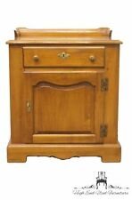 TELL CITY Young Republic Rock Maple Wash Stand Nightstand / Record Cabinet 835