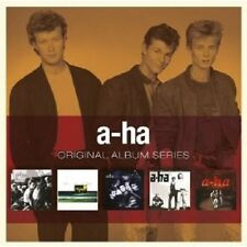 A-HA - ORIGINAL ALBUM SERIES 5 CD BOX SET POP NEW+