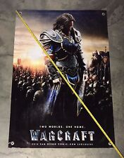 World of Warcraft banner figure army poster model armor sword card game movie