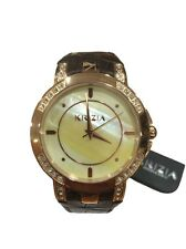 Krizia Donna Orologio Watch Woman Uhr Frida 202784RB-45A Pelle Marrone Oro Rosa