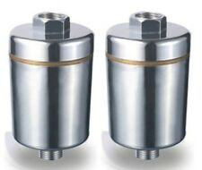 Two Pure Bath 6 Stage Shower Water Filter systems - Chrome Finish