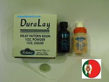 Dental Laboratory Inlay Pattern Resin Duralay Kit /Powder + Liquid Reliance