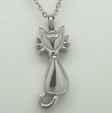 CAT CREMATION JEWELRY CAT CREMATION URN NECKLACE KITTY URN PET URN PENDANT URNS