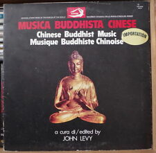 MUSIQUE BUDDHISTE CHINOISE JOHN LEVY ITALY PRESS LP ALBATROS 1979