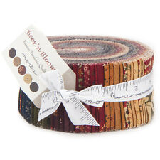 """Moda Fabric-Bees N Blooms - By Kansas Troubles- Jelly Roll 2 1/2"""" Strips"""