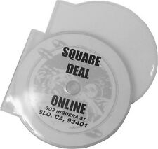 (400) CDBP42CSCL Clear Clam Shell Style CD Jewel Cases Single 4.2mm Replacement
