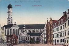 AK Augsburg. St. Ulrichskirchen.