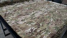 "MULTICAM CAMO FABRIC 61""W NYLON LYCRA SHEETING APPAREL MIL SPEC DWR MILITARY"